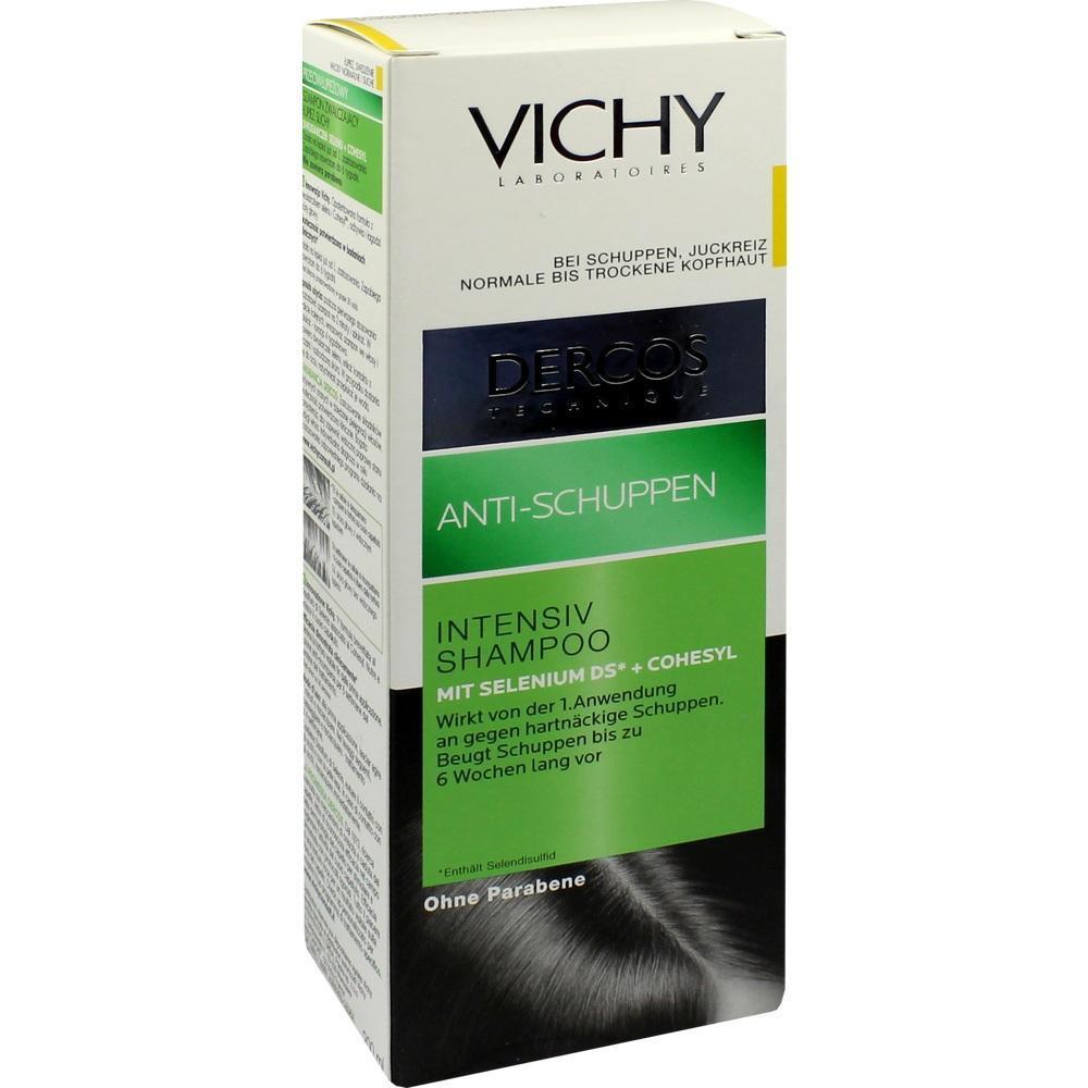 vichy dercos shampoo gegen trockene schuppen pzn 4325673. Black Bedroom Furniture Sets. Home Design Ideas